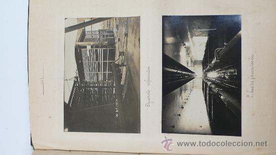Fotografía antigua: Vistas de fábricas de Barcelona, 1922. Cervezas Damm, harinas la esperanza, refinerias,etc. Ver - Foto 49 - 28843030