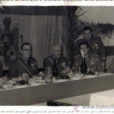 Fotografía antigua: FOTOGRAFIA ALTOS MANDOS MILITARES SIDI IFNI.. Lote 29295330