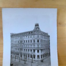 Fotografía antigua: FOTO EDIFICIO SEDE CENTRAL BANCO DE SAN SEBASTIAN 1920. Lote 29359892