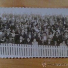 Fotografía antigua: FOTO POSTAL GIJON ESPECTADORES PARTIDO FUTBOL FOTO FILM REAL SPORTING. Lote 29359976