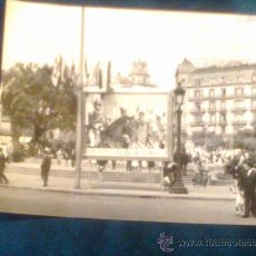 Fotografía antigua: 2 FOTOS BARCELONA PUBLICIDAD FIESTAS MERCED Y EJERCICIOS ESPÌRITUALES. Lote 29367583
