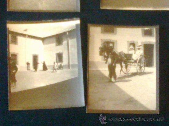LOTE 6 FOTOS VILLA PAZ , SAELICES , CUENCA, INFANTA , (Fotografía Antigua - Gelatinobromuro)