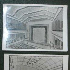 Fotografía antigua: LOTE DE 5 FOTOGRAFÍAS. PETIT CINEMA. TEATRO GUIMERÁ. BADALONA. (FOTO JUAN MARTÍ). Lote 29601166