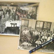 Fotografía antigua: PAREJA DE FOTOGRAFIAS DE LA BODEGA FRANCO ESPAÑOLAS -BURGOS - SORIA - LOGROÑO 1943. Lote 31551644