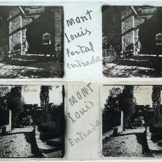 Fotografía antigua: MONT LOUIS, FRANCIA. 1920'S. 2 CRISTALES POSITIVOS ESTEREO 10,5X4,3 CM.. Lote 30787153
