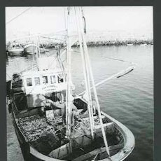 Fotografía antigua: GALICIA. PUERTO. BARCAS. C. 1960. Lote 30877476