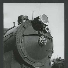 Fotografía antigua: TREN. MÁQUINA DE VAPOR. VILANOVA I GELTRÚ-18 C. 1965. Lote 30939831