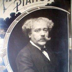 Fotografía antigua: SARASATE - CARTEL FOTOGRÁFICO - 1900'S. Lote 31251482