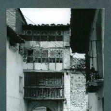 Fotografía antigua: MIRAMBEL.TERUEL. PORTAL DE LAS MONJAS. LOTE DE NUEVE FOTOS. C. 1965. Lote 31293999