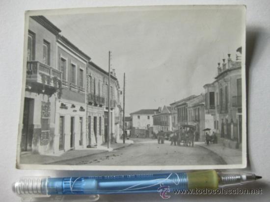 FOTOGRAFIA DE LOS AÑOS 50 DE ALGUN PUEBLO O CIUDAD ESPAÑOLA (Fotografía Antigua - Gelatinobromuro)