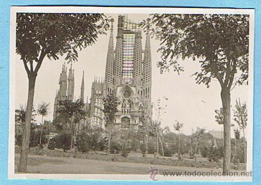 Sagrada Familia Barcelona 1930