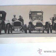 Fotografía antigua: ORIOL MASPONS - FELICITACIÓN AMIGOS DE LOS COCHES VETERANOS - 1965. Lote 32303605