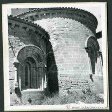 Fotografía antigua: SIGENA. HUESCA. MONASTERIO. ÁBSIDE-1. C. 1965. Lote 32437466