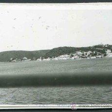 Fotografía antigua: MAHÓN. MENORCA. VISTA DEL PUERTO DE MAHÓN DESDE EL BARCO. 1967. Lote 32470576