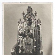 Fotografía antigua: FOTOGRAFÍA DE LA VIRGEN DE MONTSERRAT. LA MORENETA. VERGE DE MONTSERRAT. (18,5 X 12 CM.). Lote 32646260