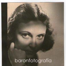 Fotografía antigua: RETATO DE ELÍA ROMERO, 1930'S. FOTO: FIRMA ILEGIBLE 18X24 CM.. Lote 32646695