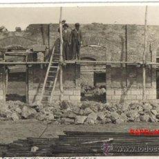 Fotografía antigua: INTERESANTE FOTOGRAFIA POSTAL , LOS PRADOS (MALAGA) GRUPO DE VIVIENDAS 1929. Lote 32697387