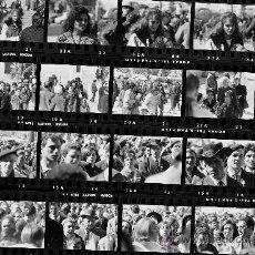 Fotografía antigua: ROMERIA GITANA - TERRASSA - 1966 - 15 NEGATIVOS . Lote 33732684