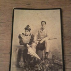 Fotografía antigua: ANTIGUA FOTOGRAFÍA DE GELATINOBROMURO IMAGEN EL CONDE DE VALVERDE. Lote 34108714
