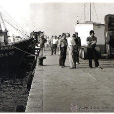 Fotografía antigua: EXTRAORDINARIA FOTOGRAFIA ORIGINAL DE PALAMOS (GERONA) AÑOS 60/70. Lote 34411451