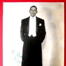 Fotografía antigua: ANTONIO MACHIN - 1950 - FIRMADA Y DEDICADA. Lote 73993354