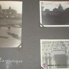 Fotografía antigua: SALAMANCA LOTE 18 FOTOGRAFIAS 1934 REALIZADAS POR TURISTA FRANCÉS . Lote 35483898