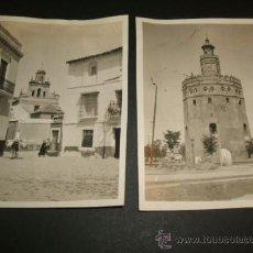 Fotografía antigua: SEVILLA 1930 COJUNTO 14 FOTOGRAFIAS POR VIAJERO AMERICANO. Lote 36602074