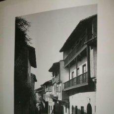 Fotografía antigua: SANTILLANA DEL MAR TORRELAVEGA CANTABRIA 7 FOTOGRAFIAS POR FRANÇOISE PEYREGNE HISPANISTA FRANCÉS . Lote 36625625