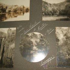Fotografía antigua: MONASTERIO DE PIEDRA ZARAGOZA 5 FOTOGRAFIAS 1910 POR JUAN MEDIAVILLA. Lote 36657384