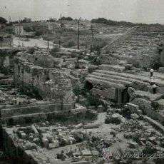Fotografía antigua: TARRAGONA. ANFITEATRO-1. 16/8/1960. Lote 37130851