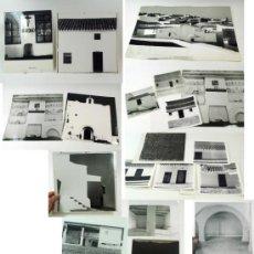 Fotografía antigua: CASAS DEL MEDITERRANEO, FOTOS: MYRON GOLDFINGER, 37 FOTOGRAFÍAS Y PRUEBAS IMPRENTA 1960'S. VER MÁS.. Lote 37479242