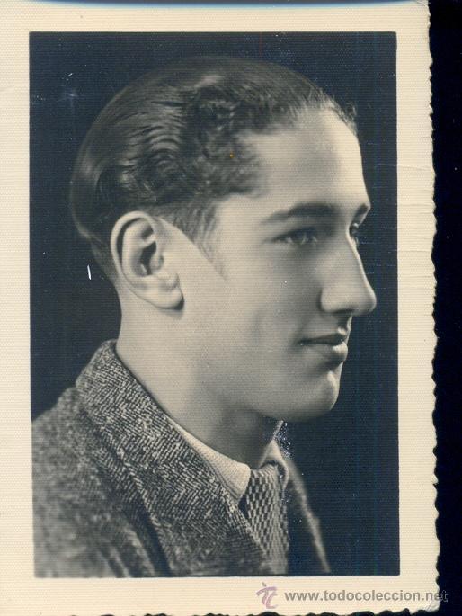 FOTO DEDICADA A MANUEL CANTERO, POR JOSÉ L. GARCÉS. FOTO BERNAL DE CEUTA. 1935 (Fotografía Antigua - Gelatinobromuro)