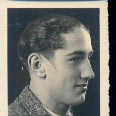 Fotografía antigua: FOTO DEDICADA A MANUEL CANTERO, POR JOSÉ L. GARCÉS. FOTO BERNAL DE CEUTA. 1935. Lote 37607211