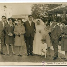 Fotografía antigua: BODA EN GALDACANO, VIZCAYA. FOTO E. CAMARA, GALDACANO. AÑOS 60. 14.5 X 10.5. Lote 37799296