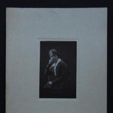 Fotografía antigua: JOVEN. MAGNÍFICO RETRATO DE M. RENOM. BCN. C. 1918. Lote 37732458