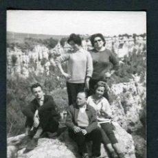 Fotografía antigua: EXCURSIONISTAS. CATALUÑA. C. 1965. Lote 37866616