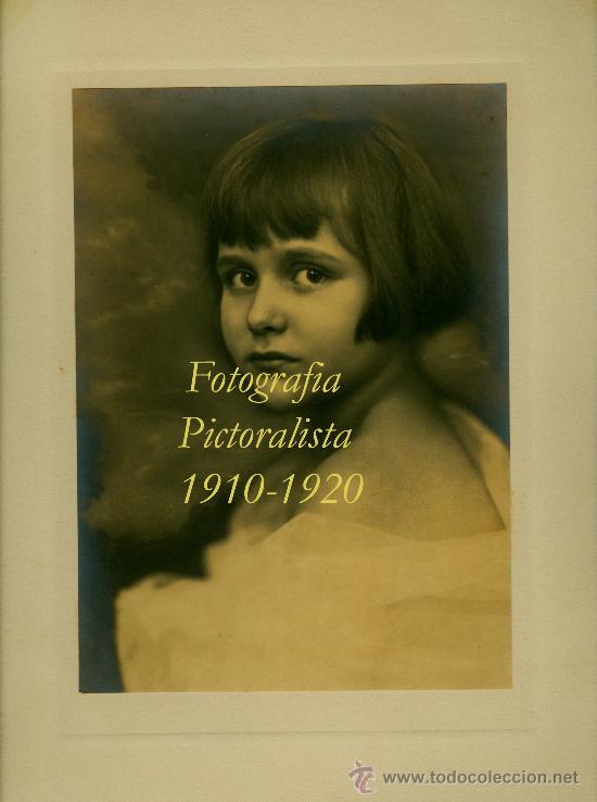 RETRATO - FOTOGRAFIA PICTORALISTA - 1910-1920 (Fotografía Antigua - Gelatinobromuro)