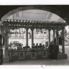 Fotografía antigua: PERFUMERÍA NACIONAL, BARCELONA, EXPOSICIÓN. FOTO: COLOMÉ, BARCELONA. 18X24 CM.. Lote 39037244