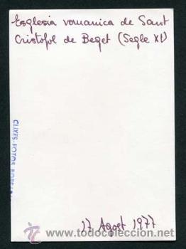Fotografía antigua: Beget. Garrotxa. Girona. 17/8/1977 - Foto 2 - 39179255