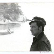 Fotografía antigua: PERSONAJE POR IDENTIFICAR, 1970'S. FOTO: COLITA (ISABEL ESTEVA) 18X24 CM.. Lote 39414922