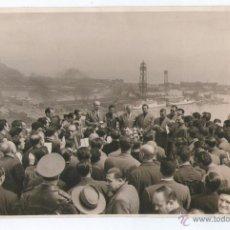 Fotografía antigua: CAMPEONATO PROVINCIAL DE TIRO, BARCELONA. ABRIL 1956. FOTO: PEREZ DE ROZAS. 15X24 CM.. Lote 39417679