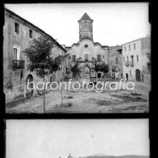 Fotografía antigua: SANTES CREUS, TARRAGONA, JULIO 1908. LOTE DE 27 CRISTALES NEGATIVOS 9X12 CM.. Lote 39751520