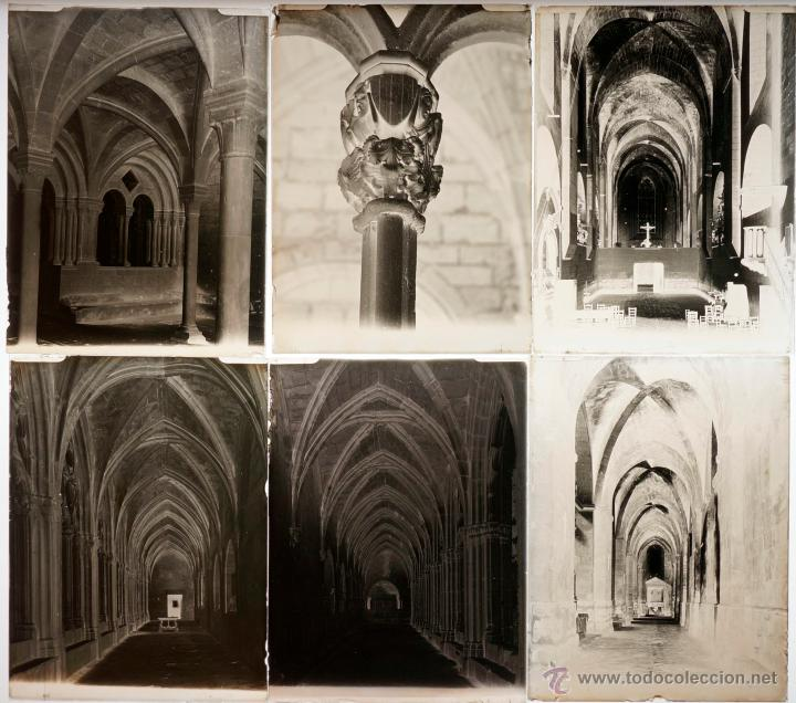 Fotografía antigua: Santes Creus, Tarragona, julio 1908. Lote de 27 cristales negativos 9x12 cm. - Foto 3 - 39751520