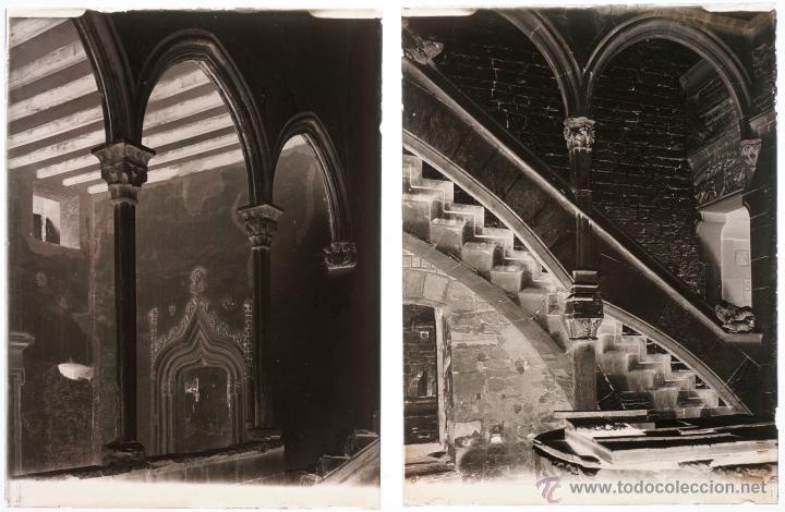 Fotografía antigua: Santes Creus, Tarragona, julio 1908. Lote de 27 cristales negativos 9x12 cm. - Foto 4 - 39751520
