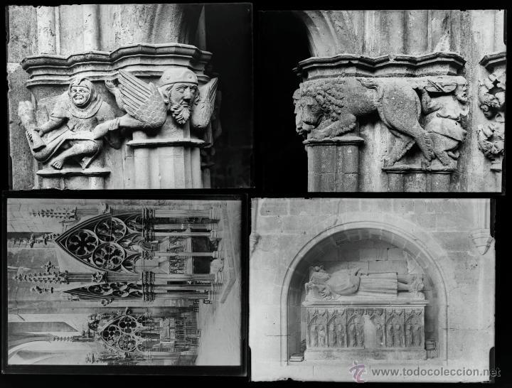 Fotografía antigua: Santes Creus, Tarragona, julio 1908. Lote de 27 cristales negativos 9x12 cm. - Foto 5 - 39751520