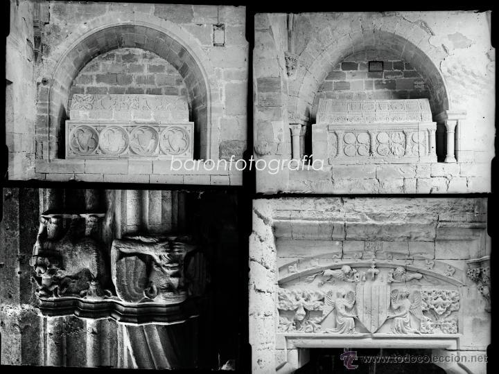 Fotografía antigua: Santes Creus, Tarragona, julio 1908. Lote de 27 cristales negativos 9x12 cm. - Foto 6 - 39751520