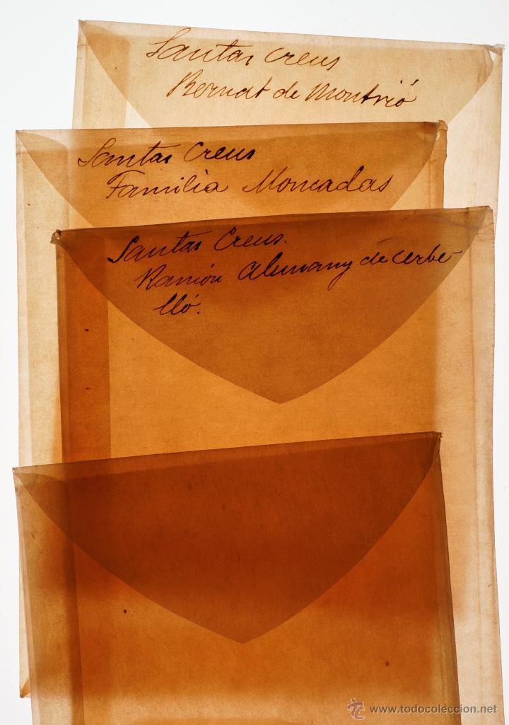 Fotografía antigua: Santes Creus, Tarragona, julio 1908. Lote de 27 cristales negativos 9x12 cm. - Foto 7 - 39751520