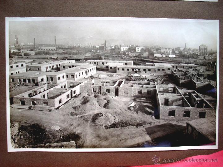 CASES BARATES - LA SAGRERA - ÀLBUM BARCELONA - 1950'S (Fotografía Antigua - Gelatinobromuro)