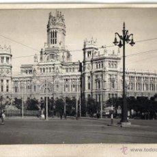 Fotografía antigua - FOTO ORIGINAL DE MADRID, SACADA POR LOS FOTOGRAFOS DE L.ROISIN PARA MODELO POSTALES - 40185916