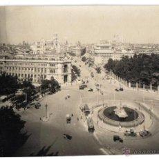 Fotografía antigua - FOTO ORIGINAL DE MADRID, SACADA POR LOS FOTOGRAFOS DE L.ROISIN PARA MODELO POSTALES - 40185972